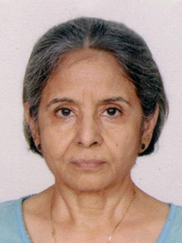 Trustee Sadhana Poonevala