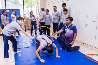 SRCC Gymnastics activities