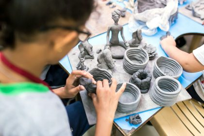 Pottery learning