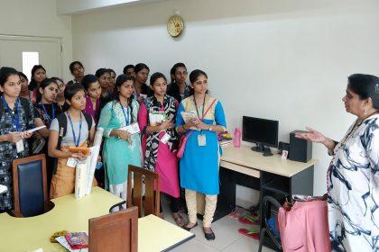 Educational visit at SRCC