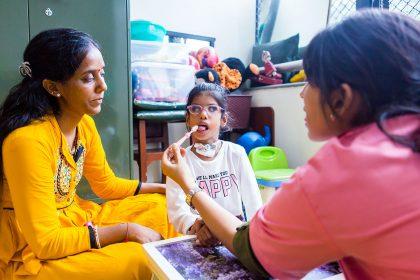 Speech therapy rehab