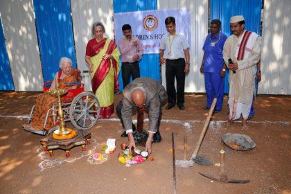 Children hospital bhoomi poojan