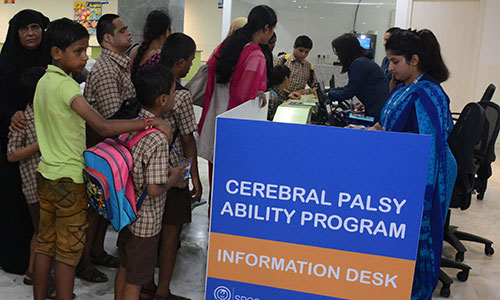 Cerebral palsy ability program