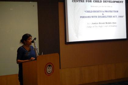 Talk on child rights