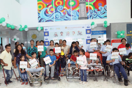 World cerebral palsy day 2018
