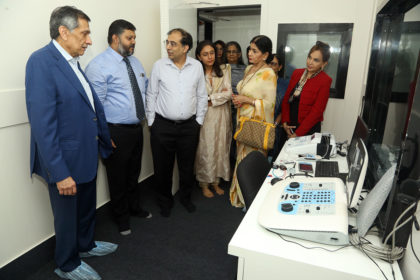 Audiology Department Launch Day
